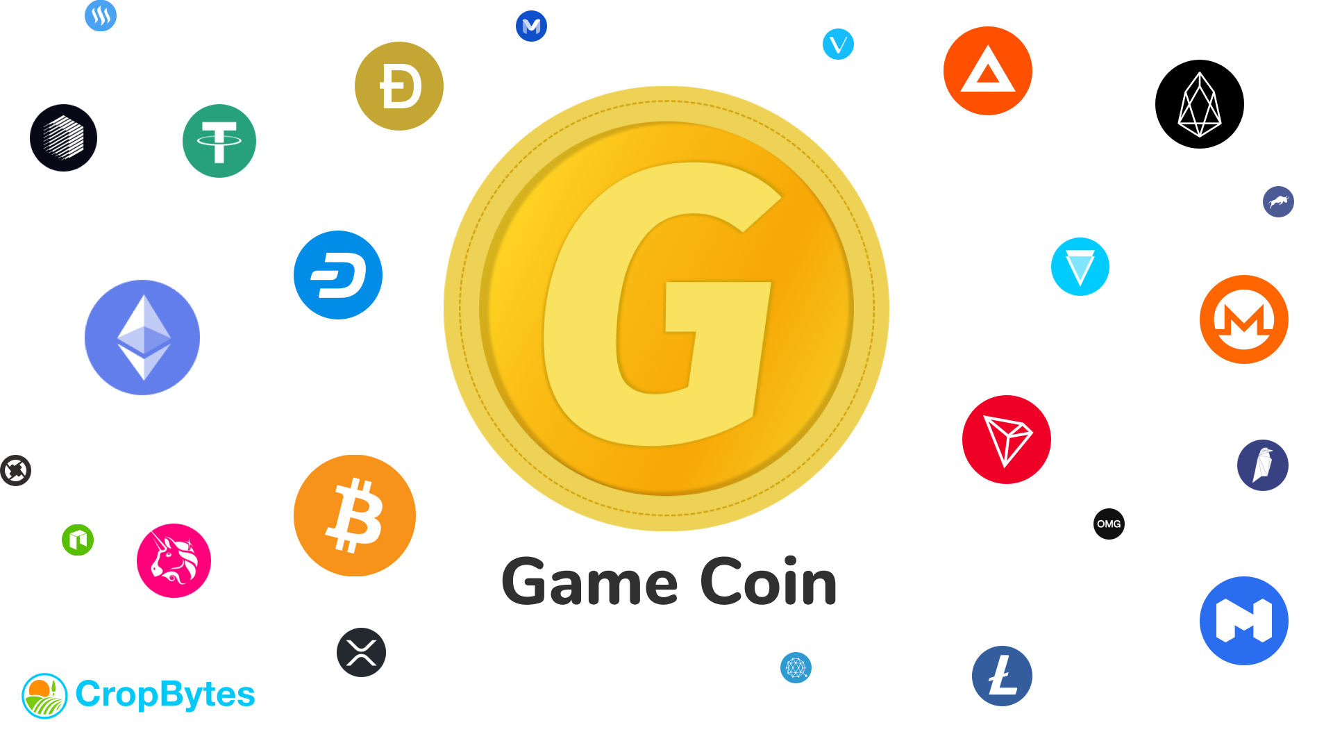 Game Coins are crypto tokens like bitcoin,ethereum,tron,etc