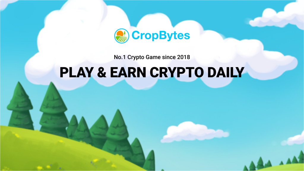 CropBytes - No1 crypto game since 2018