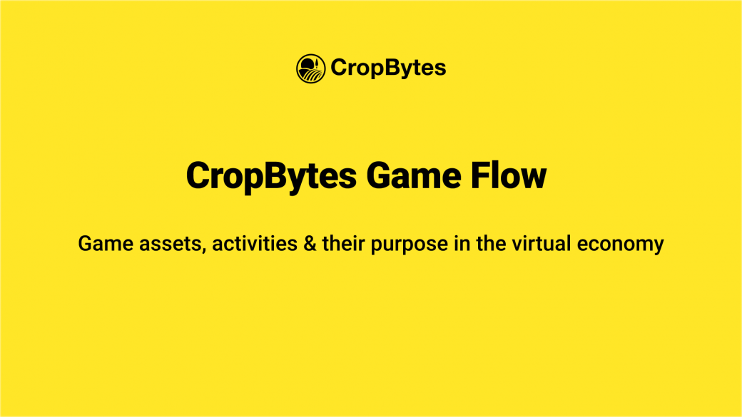 CropBytes Game Flow