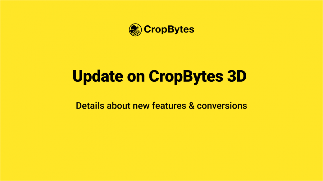 CropBytes   New Architecture & Asset Migration