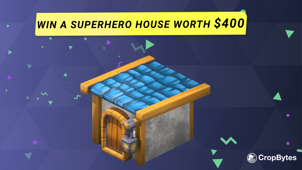 Win a Superhero House worth $400 !
