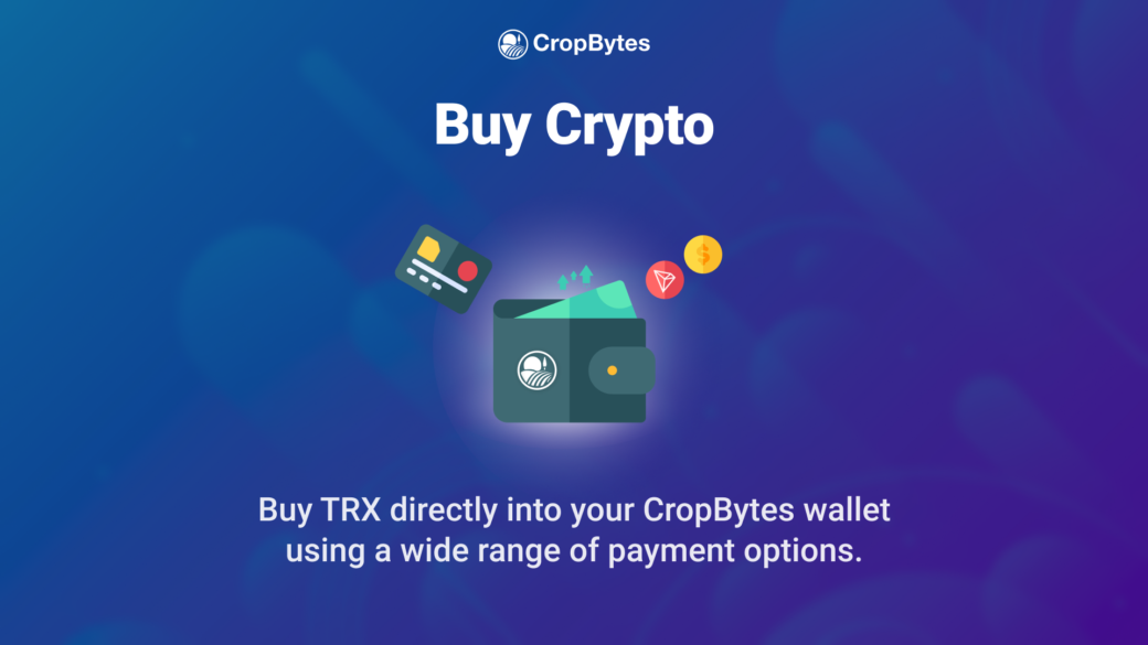 Buy Crypto On CropBytes