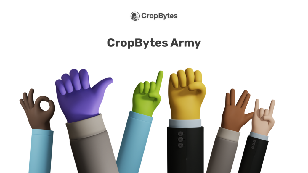 Join the CropBytes Army